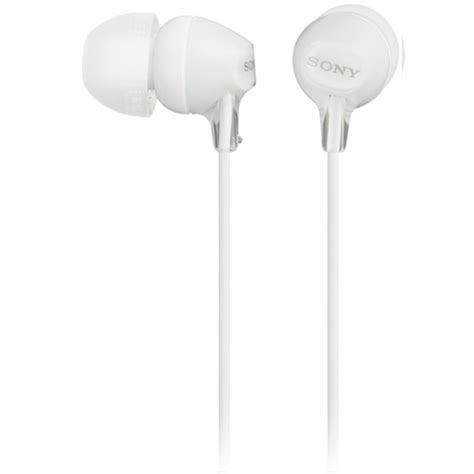 Sony Earphone Mdr E9 Lp White sony mdr ex15lp white in ear headphones with tangle free