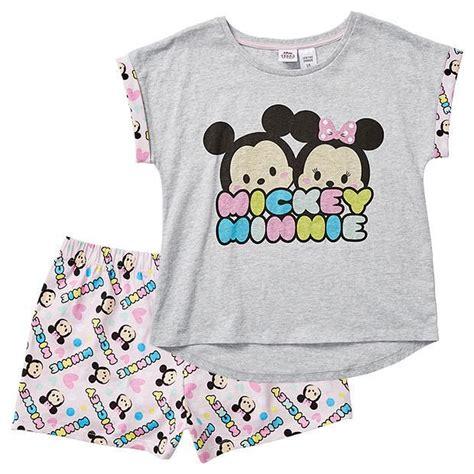Tsum Tsum Pyjamas by Tsum Tsum Mickey Minnie Mouse Pyjama Set Target Australia