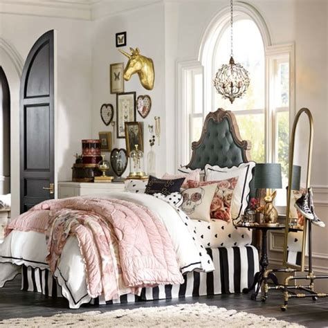 pottery barn teen headboard gorgeous glam emily meritt pottery barn teen home decor