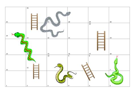 snakes and ladders printable template lmd030190 s shop teaching resources tes