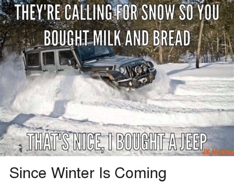 snow jeep meme 25 best memes about milk and bread milk and bread memes