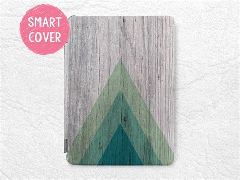 Print Pro Air Mini geometric wood print smart cover for mini new