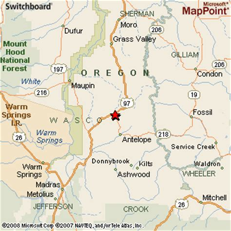 map of oregon ghost towns central oregon map