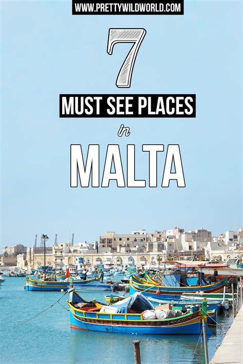 My Top 7 Places To Go On A Get Away by 7 Must See Places In Malta And Travel Tips