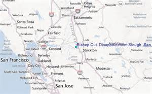 bishop california map bishop cut disappointment slough san joaquin river