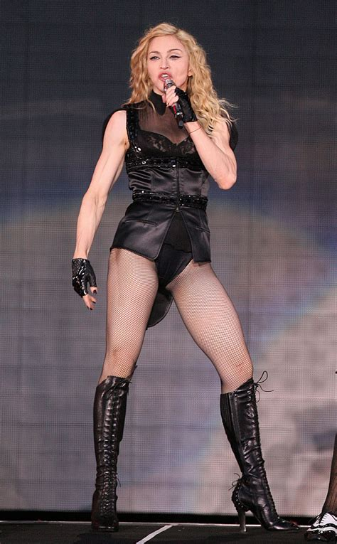 madonna body who are some extremely fit and rich people non