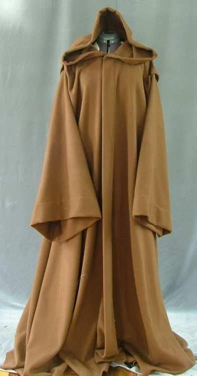 Superhero Bedroom Accessories custom made obi wan kenobi style jedi robe by cloak