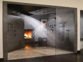 15 a walk in shower cuts down on cleaning time