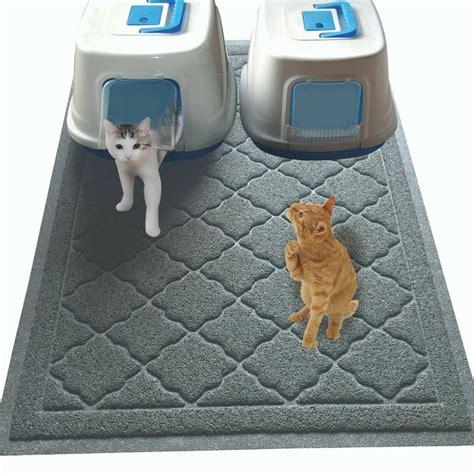 How To Keep Cat Litter The Floor by 25 Best Ideas About Cat Litter Mat On Cat Box