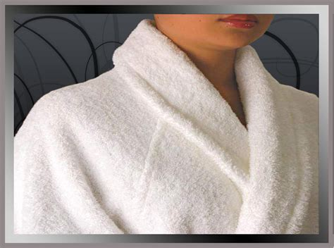 Softest Cotton Sheets by Terry Shawl Collar Bathrobe Hotel Towels Hotel Terry