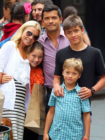 kelly ripa and family june birthday babies honor warren aleph millepied and