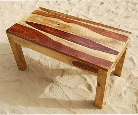 Handmade Wooden Coffee Tables - rustic solid wood handmade sofa cocktail coffee table