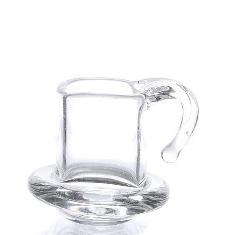 dollhouse glass dollhouse miniature glass cup on saucer dining room