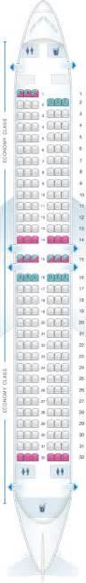 plan de cabine tuifly boeing b737 800 seatmaestro fr