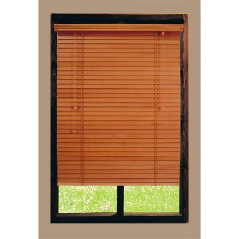 hdc home decorators home decorators collection golden oak 2 in basswood blind