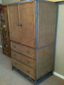 Pier One Armoire Pier 1 Wicker Armoire Photo Picture Image On Use Com