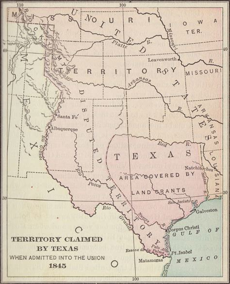 map of texas 1845 index of collaboration images c cc