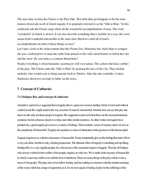 Oedipus Fate Essay by Oedipus The King Essay Oedipus The King Fate Essays And Papers Oedipus The King Summary A Level
