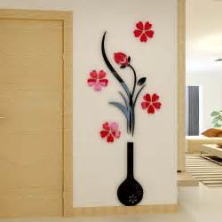 aliexpress buy vase plum flower crystal arcylic wall popular best selling items stickers decals online