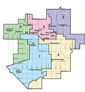 arizona school district map governing board redistricting