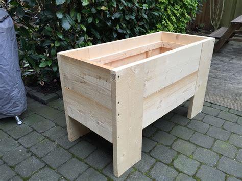 Zelf Plantenbak Maken plantenbak beton maken voor de makers