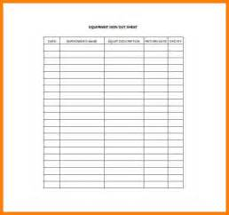 equipment sign out sheet template equipment justification template equipment criticality