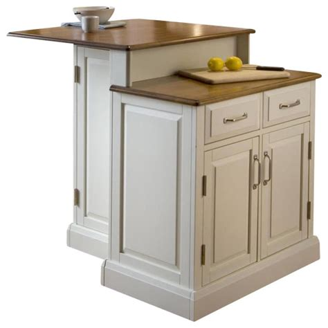 Raised Kitchen Island Sensational Home Styles Kitchen Island Oak With Raised Panel Cabinet Doors And Raised Panel
