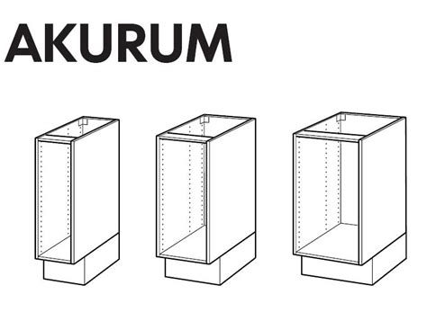 ikea kitchen cabinet installation instructions ikea akurum base cabinet frame assembly instruction