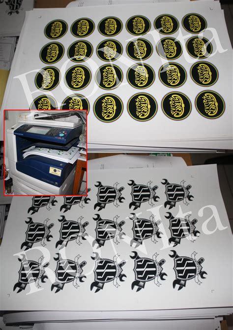 Kertas Untuk Membuat Stiker mesin cetak digital ronita digital printing
