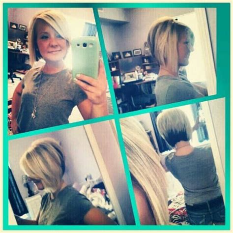 two toned diagonal forward cut 108 best images about hairstyles on pinterest shorts