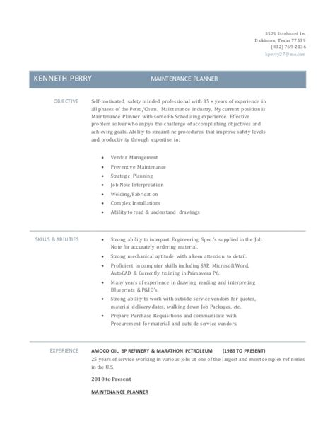 Energy Scheduler Sle Resume by Facilities Maintenance Resume Sle 28 Images Maintenance Resumes Unforgettable Facility Lead