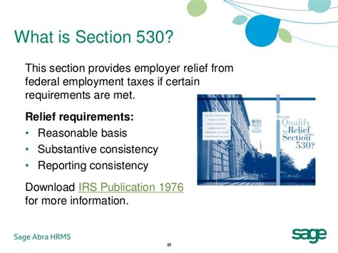 section 530 relief hr managers guide to proper worker classification