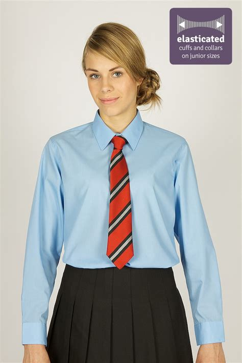 Blouse Age613 blue blouses pack year 9 to 11 cat ballou
