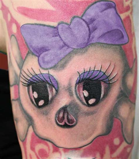 girly skull tattoos presently it appears that young