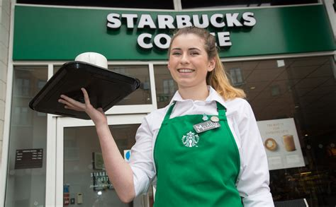 wrexham starbucks barista maddy of beans as she aims