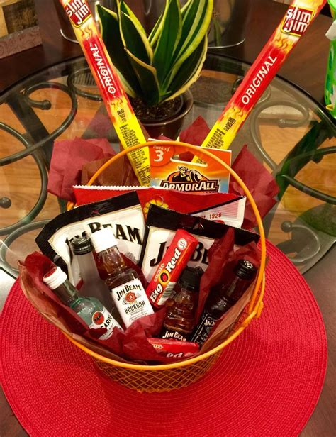 dollar tree gifts gift basket idea for guys made by me everything except