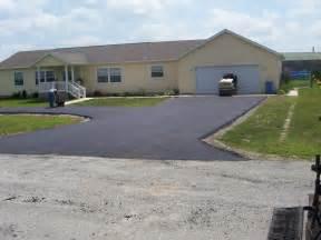 asphalt paved driveways common driveway types