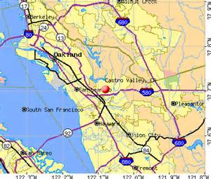 castro valley california map castro valley california ca profile population maps