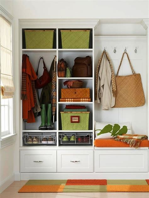 entry storage entryway storage organization simple home decoration