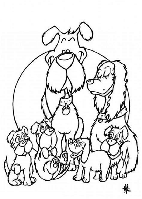 imagenes de la familia de animales dibujos para colorear la familia perro fox terrier es