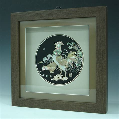 of pearl wall decor of pearl wall decor carving in frame antique
