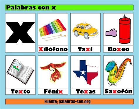 Imagenes Que Comienzan Con La Letra X | palabras con la letra x x ejemplos de palabras con x