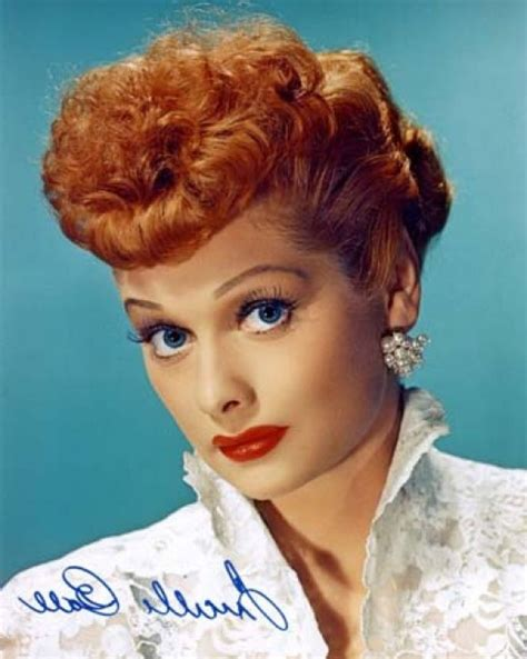 Fun Facts About Lucille Ball by Lucille Ball Hairstyles Hair Cloudpix