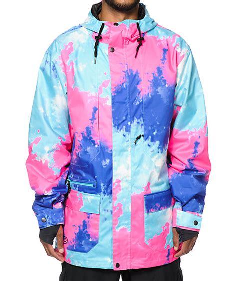 airblaster abbc tie dye 15k snowboard jacket at zumiez pdp