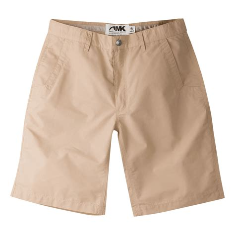 Shorts Khaki mountain khakis s poplin relaxed fit