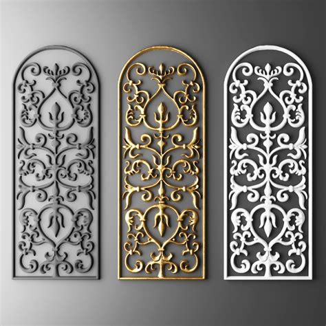 Design By Us Fretwork by Fretwork Grille 3d Model