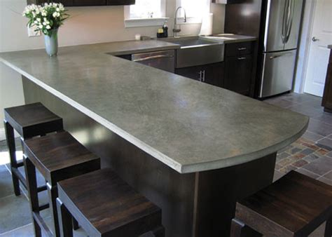 Concrete Countertops Materials by Five Inc Countertops 3 Industrial Style