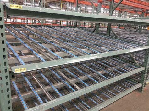 Unarco Racking by New Used Flow Racking Kingway Flow Rack