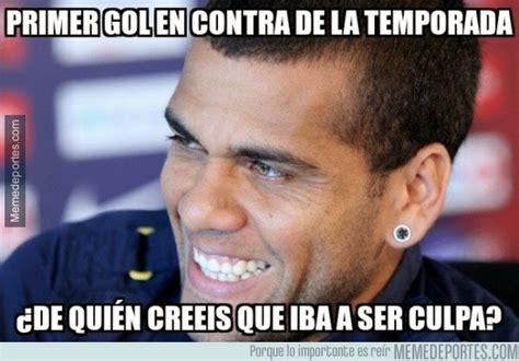 Dani Alves Meme - memes barcelona vs psg