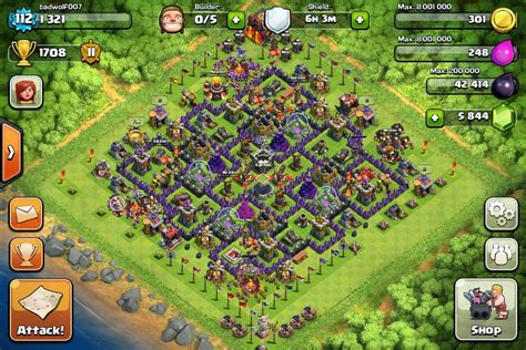 layout of coc clash of clans town hall 10 layout clash of clans